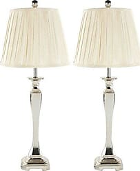 Safavieh Lighting Collection Athena Champagne 28-inch Table Lamp (Set of 2)