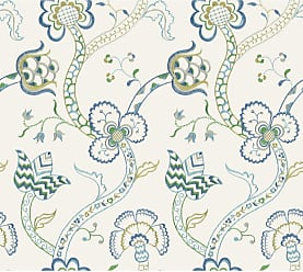 York Wallcoverings 27 ft. Williamsburg III Gainsborough Removable Wallpaper - GS6280