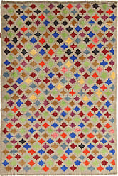 Nain Trading Handknotted Baluch Rug 57x311 Brown/Orange (Wool, Afghanistan)