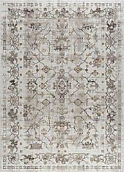 Tayse Rachel Transitional Oriental Cream Rectangle Area Rug, 5 x 7