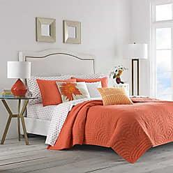 Revman International Trina Turk USHSA91050616 Palm Desert Quilt Set Twin Orange