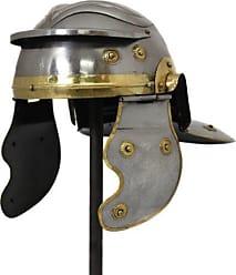 Urban Designs Roman Helmet, Silver/Gold
