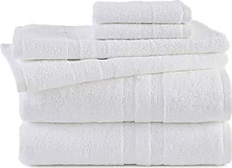 Westpoint Home Martex Purity Towel Set 6 Piece, Optical White