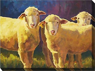 West of the Wind Golden Girls Wall Art - 40W x 30H in. - OU-85015