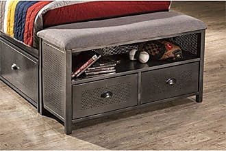 Hillsdale Furniture 1265-370 Urban Quarters Headboard, Twin, Black Steel
