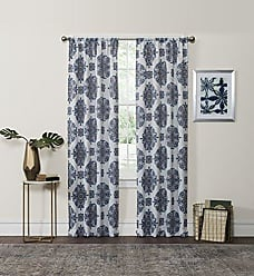 Ellery Homestyles Eclipse Olivia Thermaweave Printed Panel, Navy, 37 x 63
