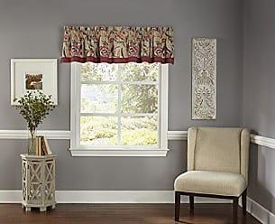 Ellery Homestyles WAVERLY 16899052016JBL Key of Life Window Valance, 52x16, Jubilee