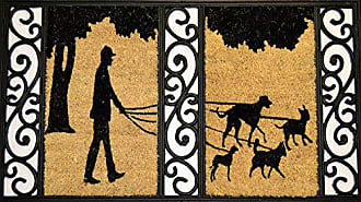 Geo Crafts G392 Tuff Coir Dog Walker Entry Way Doormat