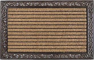 First Impression Striped Double Door Outdoor Door Mat - A1HOME200084