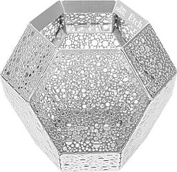 TOM DIXON Etch Tea Light Holder - Stainless Steel Dot