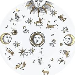 Fornasetti Astronomici Plate - Black/White/Gold
