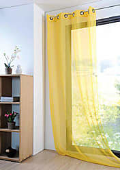 Jaune Jaune Lovely Casa CU4689020G Nelson Galette Coton - 38x38cm