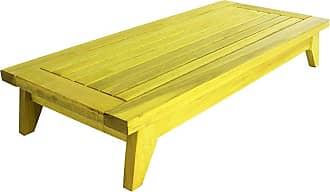 Mão & Formão Banco Meditação Zen - AmareloAmarelo