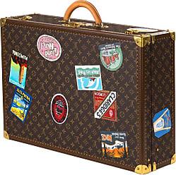 Louis Vuitton Bisten Suitcase 65 Monogram With Stickers