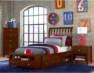 Hillsdale Furniture 31032NS Hillsdale Kids and Teen Pulse Full Rake Storage, Cherry Sleigh Bed