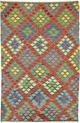 Nain Trading Kilim Afghan Heritage Rug 83x55 Beige/Orange (Afghanistan, Wool, Handwoven)