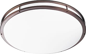 PROGRESS P7252-174EBWB Three-light modular fluorescent in Urban Bronze finish with white acrylic glass