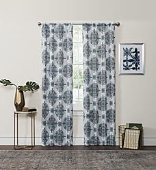 Ellery Homestyles Eclipse Olivia Thermaweave Printed Panel, Aqua, 37 x 63