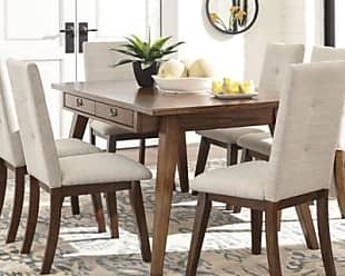 Ashley Furniture Centiar 5-Piece Dining Room, Two-tone Brown