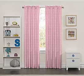 Ellery Homestyles Eclipse Kids 15941042X084PNK Tiny Bella 42-Inch by 84-Inch Single Window Curtain Panel, Pink