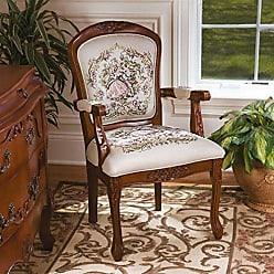 Design Toscano La Danse du Printemps Fauteuil Chair: Set of Two
