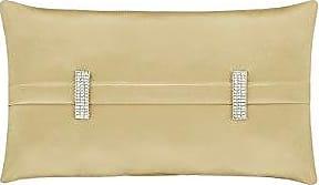 Five Queens Court Saranda Satin Boudoir Throw Pillow, Gold
