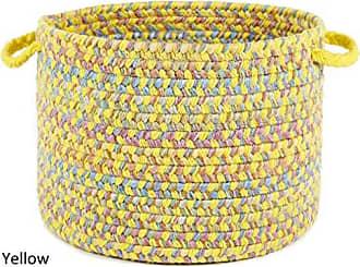Rhody Rug Sandbox Yellow Multi 18 x 12 Basket