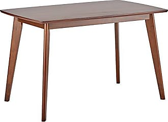 Coaster Kersey Dining Table with Angled Legs Chestnut