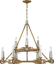 Golden Lighting 5717-9 Signet 9 Light 36-1/2 Wide Taper Candle