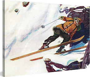 Marmont Hill Avalanche Rider Painting on Wrapped Canvas - MH-LDGCU-102-C-18