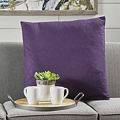 Christopher Knight Home 301604 Soyala Soft Smooth Fabric Throw Pillow (Plum)