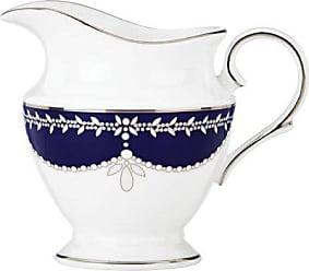 Lenox Marchesa Empire Creamer Cup, Pearl Indigo