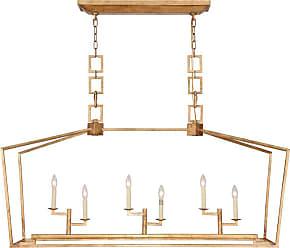 Elegant Furniture & Lighting Elegant Lighting Denmark II 1512 Chandelier - 1512G54GI