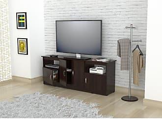 Inval America 50 in. Flat Screen TV Stand - Espresso / Wengue - MTV-6719
