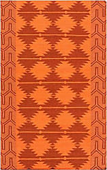 Surya Jewel Tone JTII-2070 Hand Woven Wool Southwest Area Rug, 5-Feet by 8-Feet
