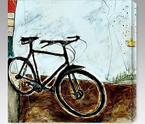 Gallery Direct Bicycle I Indoor/Outdoor Canvas Print by Joel Ganucheau - NE37370