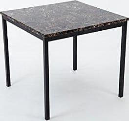 Boraam 77010 Arjen Dining Table, Black