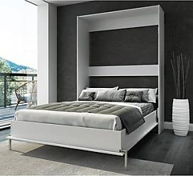 Overstock Stellar Home Furniture Urban Queen Wall Bed (White)