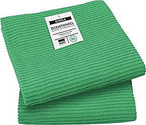 Now Designs 197614aa Ripple Kitchen Towel, Set of 2, Greenbriar Green