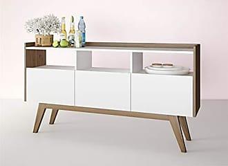 Estilare Aparador Buffet Bar 3 Portas Basculantes BR73 Petra - Branco