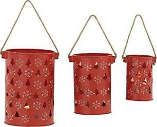 Benzara 24242 Adorable Metal Candle Lantern, Set of 3