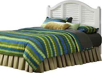 Home Styles 5543-601 Bermuda White Brushed Headboard, King