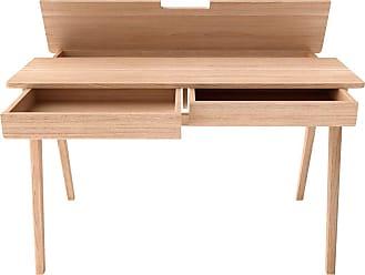 alina bureau avec tiroirs et plateau relevable - Bureau Informatique Alinea