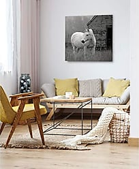 WEXFORD HOME Morning Pasture Gallery Wrapped Canvas Wall Art, 16x16, Multicolor