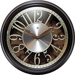 Infinity Instruments Leeds Round Clock, 15