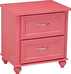 FURNITURE OF AMERICA 24/7 Shop at Home 247SHOPATHOME IDF-7322PK-N Childrens-nightstands, Pink