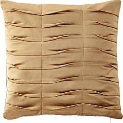 Dian Austin Couture Home Emporium Pleated Velvet Boutique Pillow, Gold