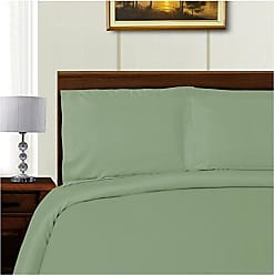 Home City Inc. Superior 1000 Thread Count Tencel Blend Duvet Cover Set, King/California King, Sage