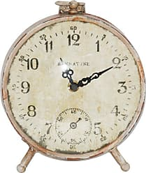 Zentique 6 in. Paris Round Petit Clock - PC005