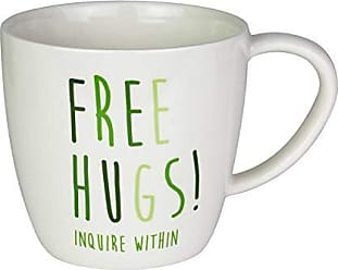 Enesco 6003677 Our Name is Mud Free Hugs Cactus Figurine Coffee Mug 16 oz. White